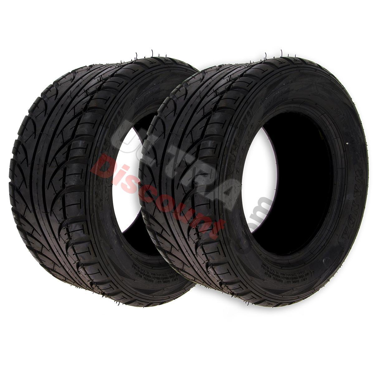 paire de pneus arri re route 225 45 10 pour quads shineray 300st 4e pi ces quads shineray 300. Black Bedroom Furniture Sets. Home Design Ideas